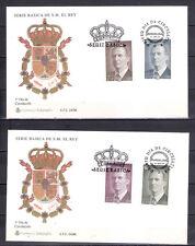 ESPAÑA 1996 SOBRE PRIMER DIA SERIE BASICA JUAN CARLOS I EDIF 3461-3464 VER FOTO