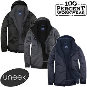 Fleece Lined Waterproof Coat in Men's Coats & Jackets for sale | eBay