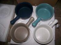 Threshold  FRENCH ONION SOUP  Bowls  (18oz) - Set Of 4 - NIB