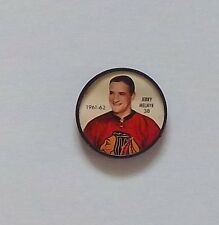 Shirriff / Salada coins hockey 1961-62 # 38 Jerry Melnyk Chicago set # 12