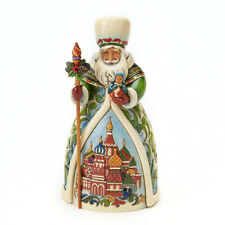 Jim Shore Russian Santa Figurine ~ 4017650