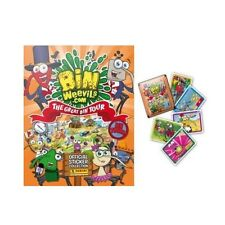 20 packs : PANINI Bin Weevils autocollant collection (Orange) - The Great Tour