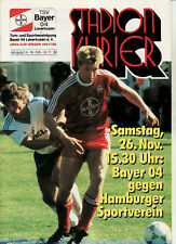 BL 88/89 Bayer 04 Leverkusen - Hamburger SV