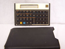 Vintage HP12C Financial Calculator w/ Soft Pouch Hewlett Packard Rarely Used