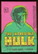 1979 Topps THE INCREDIBLE HULK Unopened Wax Pack