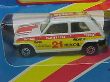 MATCHBOX LESNEY SUPERFAST MB21 RALLY RENAULT 5TL MIB