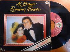 "Vinyl disk 7"" AL BANO ROMINA POWER-will/when a love you VA-EX"