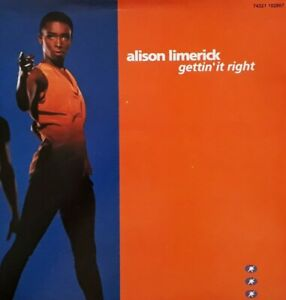 "Alison Limerick-Gettin' It Right 7"" Single.1992 BMG 74321 102867.Dance/House."