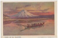 Canada, View of Mt. Ranier Art Postcard, B250