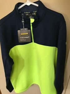 New With Tags Under Armour Men's Large 1/4 Zip HStorm Pullover-Beautiful Color!