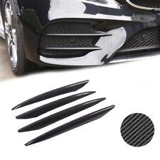 Carbon Fiber Type Front Fog Light Exterior Cover Strip For 16+ Benz E-Class W213