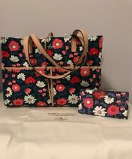 Kate Spade Washington Square Mega Sam Tote Handbag + Matching WALLET PXRU8568
