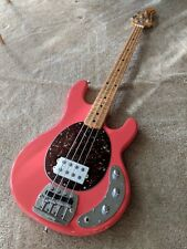 Ernie Ball Music Man Stingray Classic in Coral Red