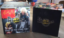 2 DR MARTENS LARGE AIR WAIR SHOP DISPLAY ADVERTISING SIGNS CUBES RARE 15cm CUBE