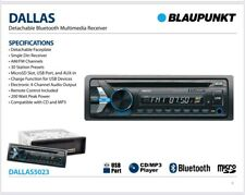 BLAUPUNKT DALLAS5023 CAR 1DIN CD MP3 AM FM BLUETOOTH STEREO FREE 3.5mm AUX CABLE