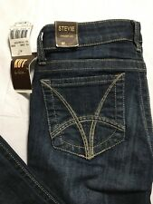 KUT From The Kloth Size 2 Stevie Straight Leg Wise Wash Distressed Jeans 28x27