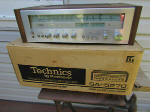 Vintage Technics SA-5270 Stereo Receiver Tested/Working