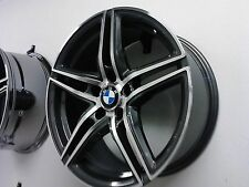 4X Borbet XRT 8X18 ET35 graphite polished 5/120 BMW E90 E91 F30 F31