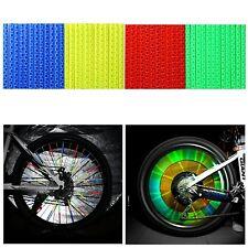 12x Tube Clip réfléchissant Réflecteur light lumière pour Rayon Roue Vélo VTT