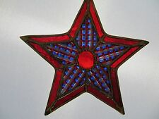 STAINED GLASS - STAR CHRISTMAS ORNAMENT - STAINED GLASS CHRISTMAS ORNAMENT