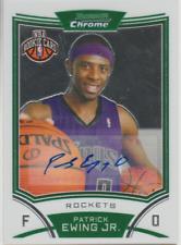 Patrick Ewing Jr 2008 Topps Bowman Chrome rookie RC autograph auto card 180