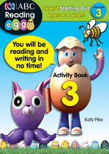 ABC Reading Eggs - Activity Book 3 by Katy Pike