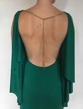 bcbg maxazria Dress Emerald Green Backless