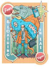 Vicky Green Fear & Loathing in Las Vegas Art Print Alt Movie Poster 90s NT Mondo