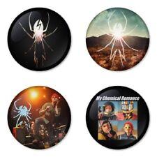 My Chemical Romance, G - 4 chapas, pin, badge, button