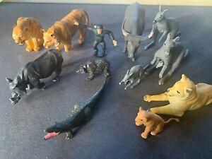Vintage zoo animals - 1970's Britains etc. Small bundle collection