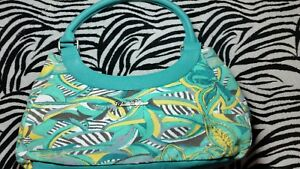 *New* Chilli Pepper Women's/Ladies  Turquoise Leather & matrial Bag ☆100% Gen☆