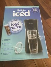 NEW. MrCoffee Iced Coffee Maker  Reusable Tumbler & Coffee Filter FAST SHIPPING