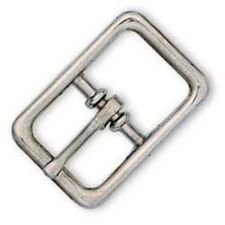 "1"" Center Bar Bridle Buckle (Nickel Finish) - Tandy Leather #1567-22"