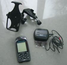 Navigation Airmap 500 handheld Gps with antenna and yolk mount - screen is mint
