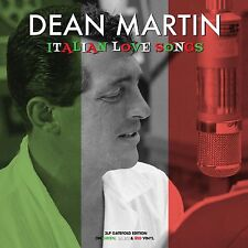 Dean Martin ITALIAN LOVE SONGS Limited NEW GREEN/WHITE/RED COLORED VINYL 3 LP