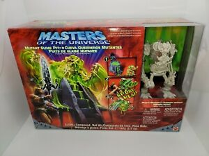 Masters of the Universe Mutant Slime Pit Playset Complete 2003 New Sealed