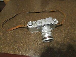 Vintage Leica DRP 35mm Camera Ernst Leitz Wetzlar No 362019 Summarit Lens