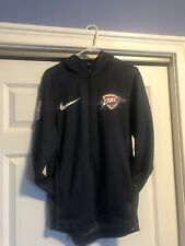 NEW Nike NBA OKC Thunder Therma Flex Showtime Hoodie Jacket Men?s SZ Small