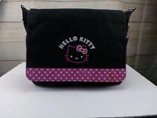 Sanrio Hello Kitty Messenger Bag  Laptop Multiple Pocket Adjustable Strap
