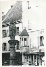 THANN c. 1935 - Statue Fontaine St Thiébaut  Haut-Rhin - DIV 6466