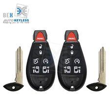 2 Key Fob Keyless  Remote Beeper Transmitter 2008-2015 Chrysler Town & Country