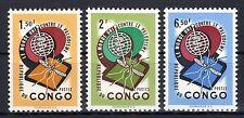 Congo (Zaïre) - 1962 Fight malaria  - Mi. 92-94 MNH