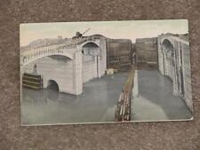 West Chamber-Miguel Locks, Panama Canal, unused vintage card