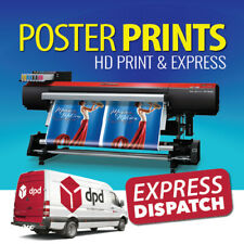 Full Colour Poster Print / Printing Service A0 A1 A2 A3 | EXPRESS DISPATCH