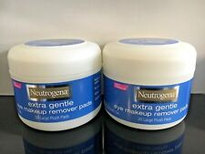 2 X NEUTROGENA EXTRA GENTLE EYE MAKE UP REMOVER 30 Pads (x 2)