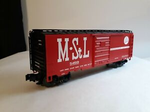 MTH M&STL 40' BOX CAR, CAR# 54619, ITEM #20-93148