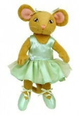 Angelina Ballerina Learn To Dance Alice Plush Mouse Doll By Sababa Toys 23cm