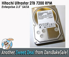 "Hitachi HGST 2TB Internal 7200 RPM 3.5"" (OF10452) Ultrastar Enterprise HDD"