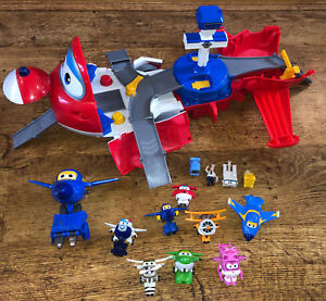 Super Wings Jett Takeoff Tower 2 In 1 Playset Planes Transform A Bot Figure Toy