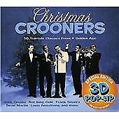 Christmas Crooners [3d Pop-Up Edition], Various Artists, Audio CD, Good, FREE &